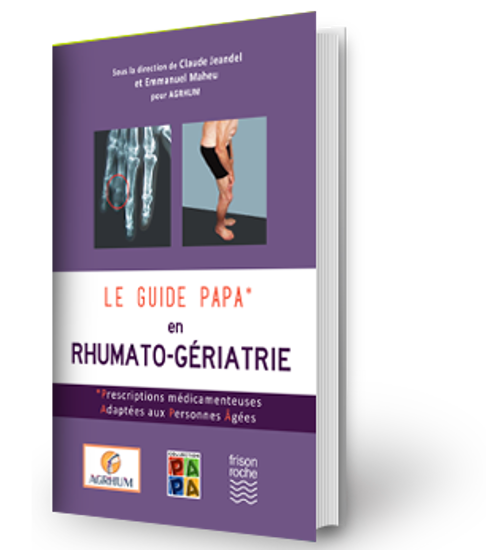 Image sur Le Guide Papa en Rhumato-Gériatrie